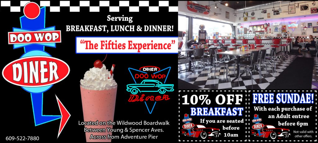 Doo Wop Diner Coupon